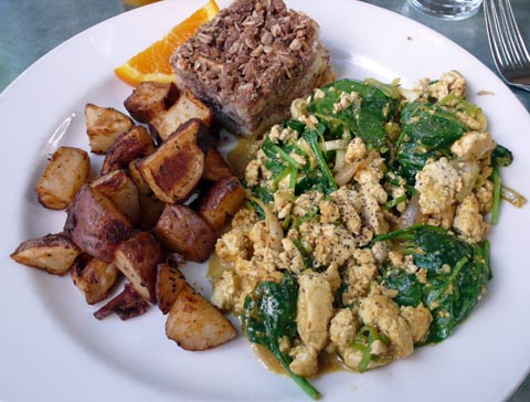 Spinach Scramble