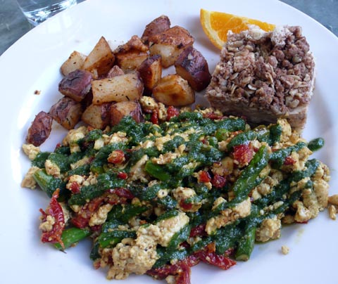 Spinach Scramble - Recipegreat.com