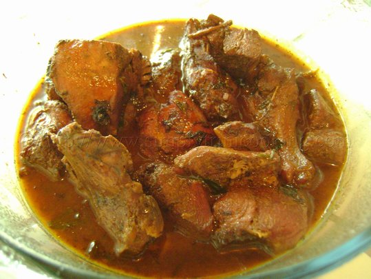Stewed Chicken - Trinidad Style