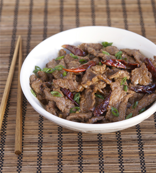 Stir-Fried Beef in Spicy Hunan Sauce