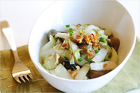 Stir-fried Chinese Cabbage