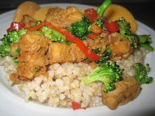 Stir Fried Tempeh and Vegetables