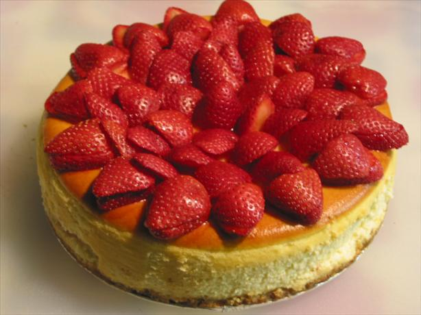 Strawberry Amaretto Cheesecake