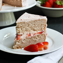 Strawberry & Cream Dream Cake