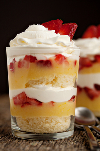 Strawberry-Lemon Parfait