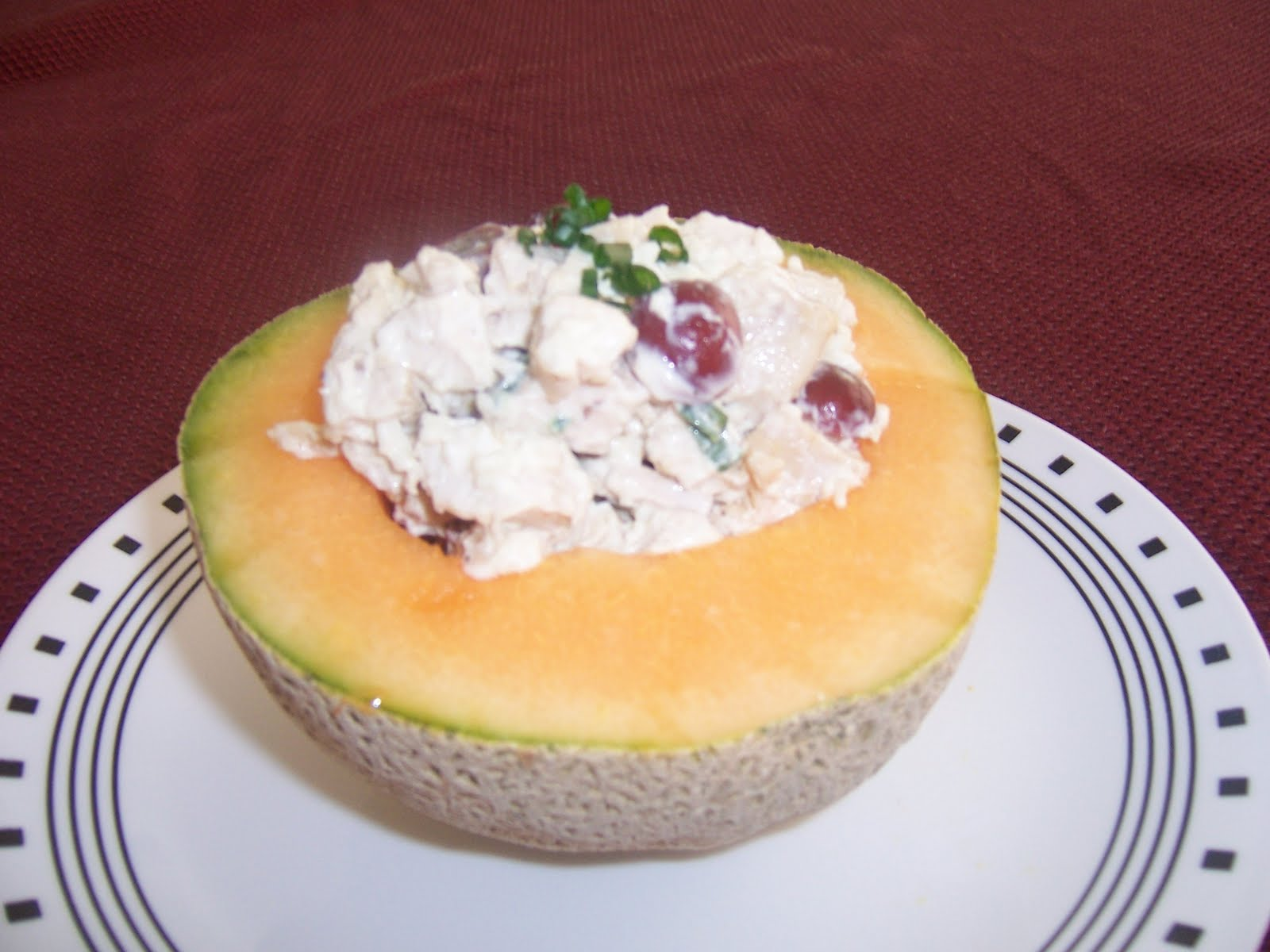 Stuffed Cantaloupe