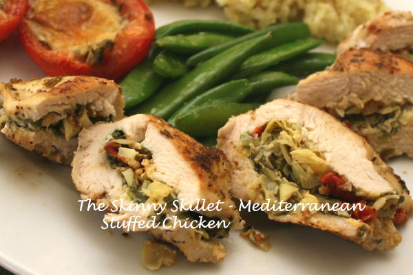 photos of Stuffed Chicken Breasts with Artichoke Hearts, Feta Cheese ...