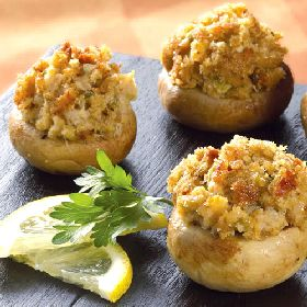 Stuffed Mushrooms with Crabmeat