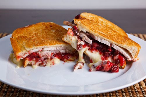 Stuffed Pork Roast with Cranberry Sauce