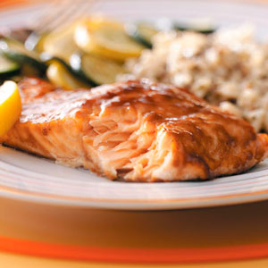 Sugar Glazed Salmon