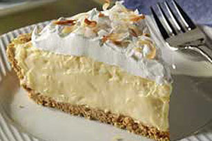 Super Easy Coconut Cream Pie