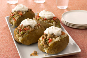Super Stuffed Potatoes