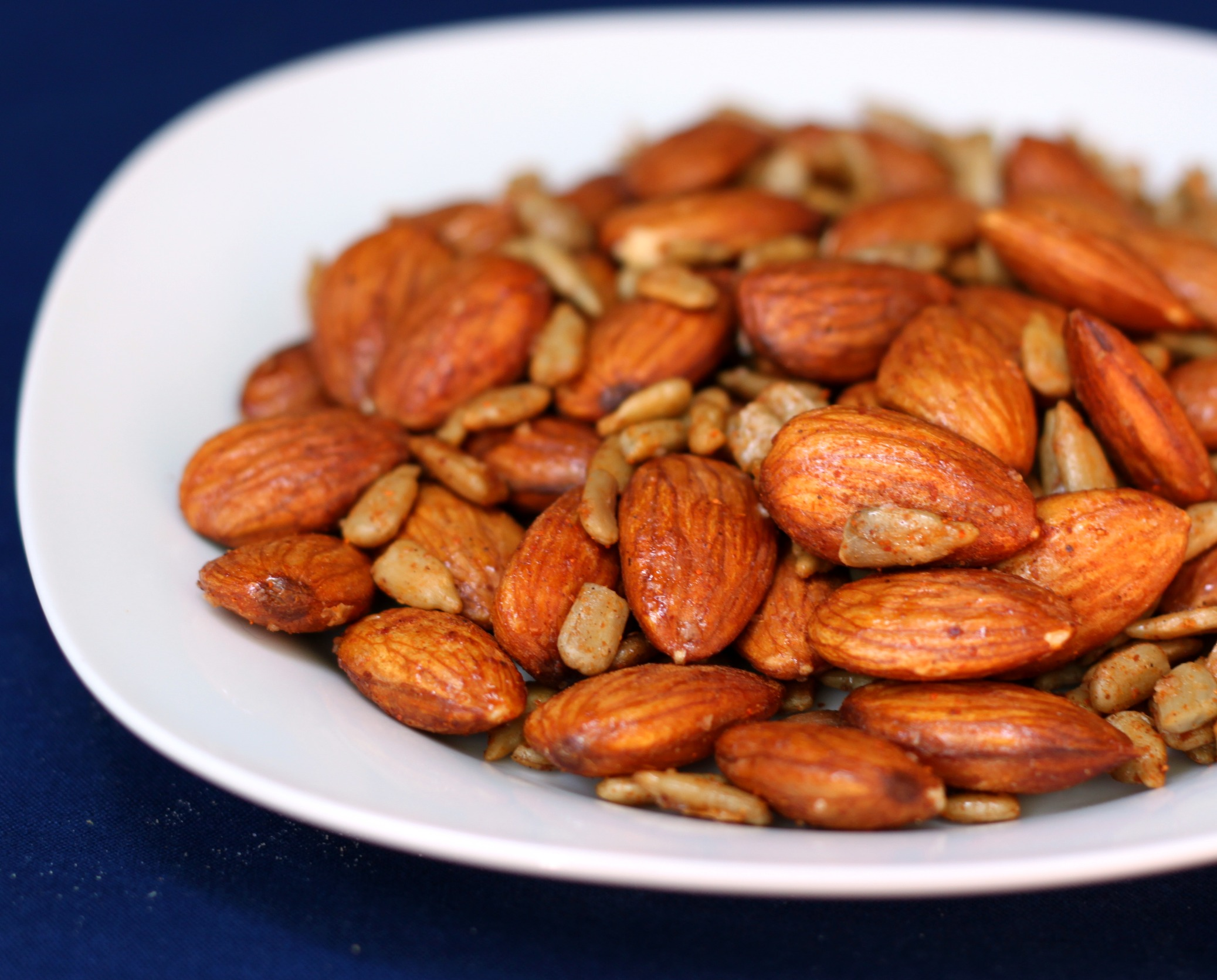 Sweet & Spicy Roasted Nuts