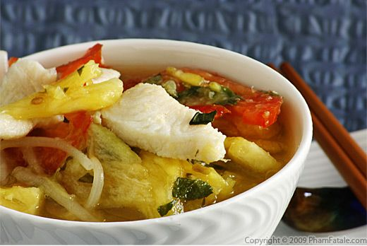 Sweet and Sour Christmas Fish Soup
