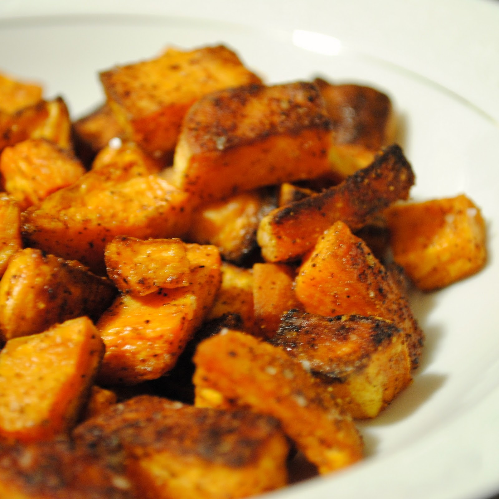 Sweet and Spicy Sweet Potatoes - Recipegreat.com