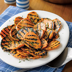 Sweet Potatoes for the Grill