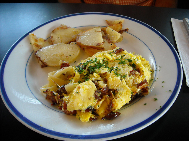 Swiss Cheese Scramble
