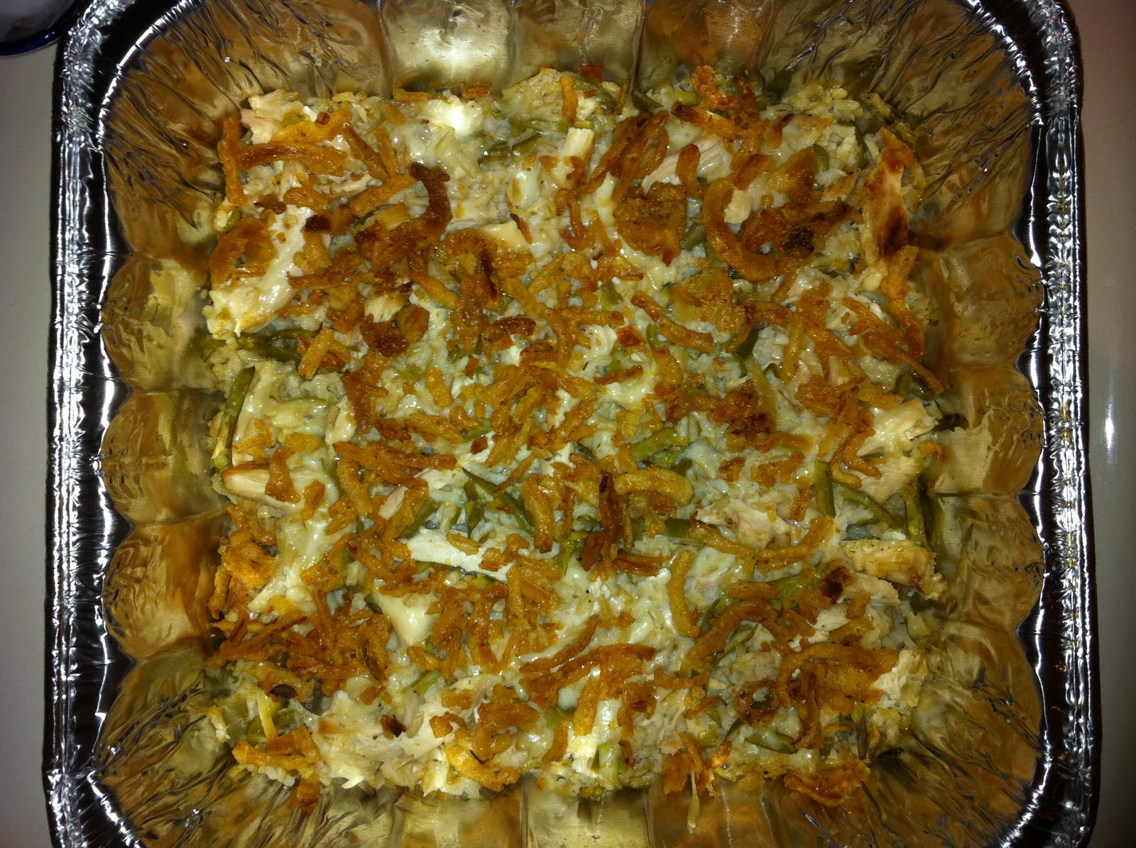 Swiss Chicken and Green Bean Bake