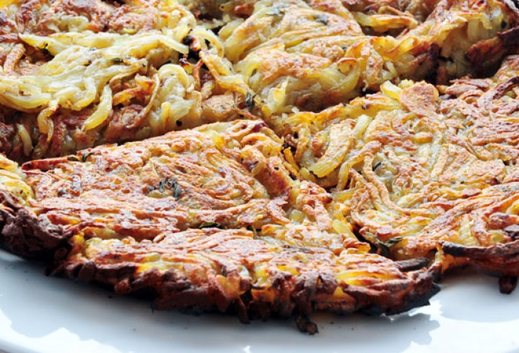 Swiss Fried Potatoes (Rosti)