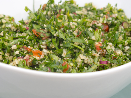 Tabbouleh - Wheat and Herb Salad