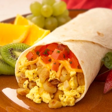 Tasty Breakfast Burritos
