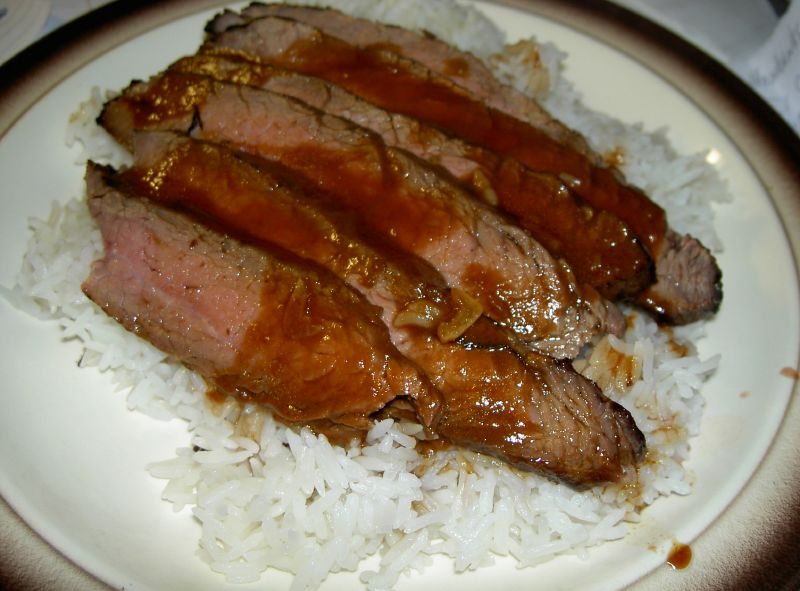 Tender Asian Flank Steak