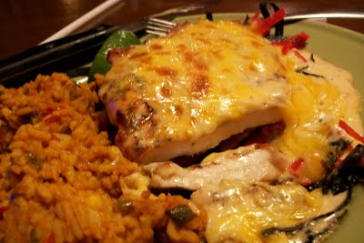 Tequila Lime Chicken from Applebee's