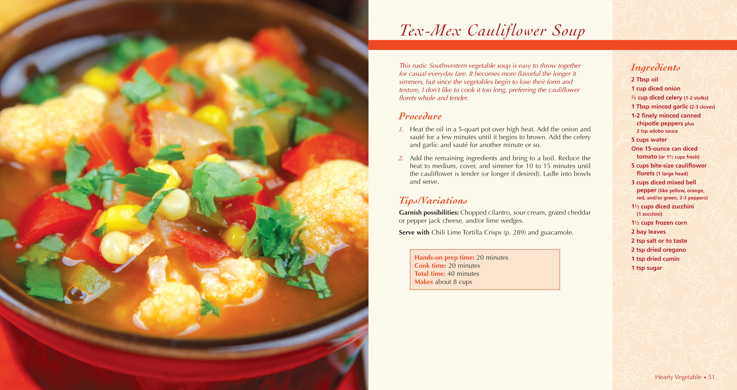 Tex- Mex Cauliflower