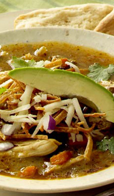 Tex-Mex Chicken Tortilla Soup