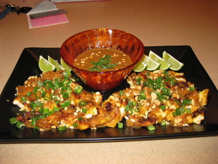 Thai Chicken Bites With Dipping Sauce