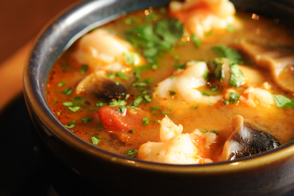 Thai Shrimp (chili) Soup