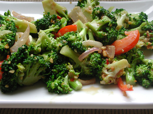 Thai Style Broccoli Salad