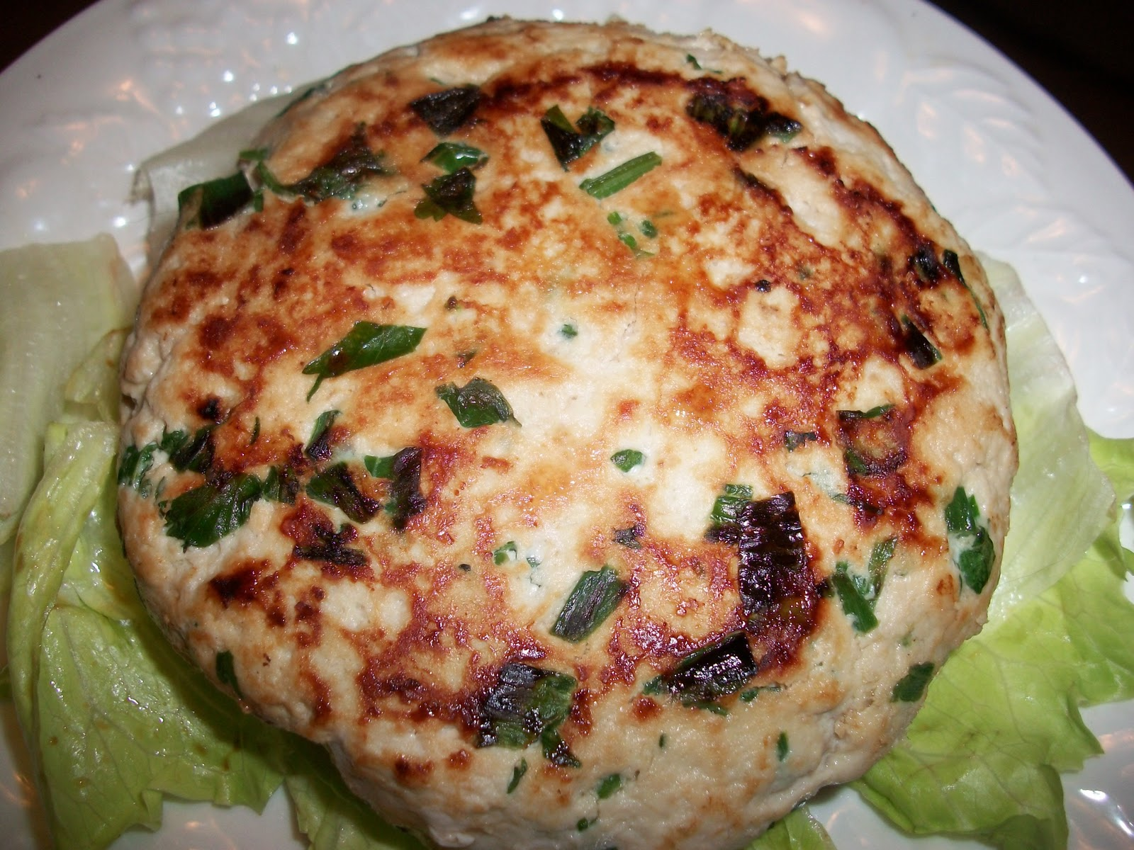 Thai Turkey Burger-Weight Watchers 5 Points