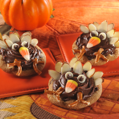 Thanksgiving Turkeys (Cookies)