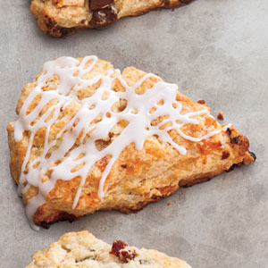 The Best Cranberry Scones Ever