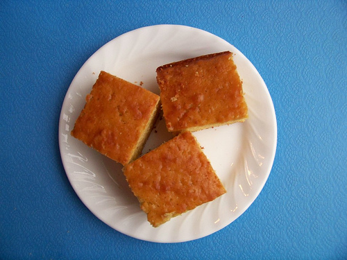 The Best Honey Cornbread