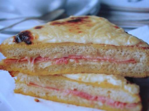 The Classic French Bistro Sandwich - Croque Monsieur