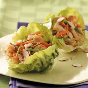 The Popular Kids Make Lettuce Wraps