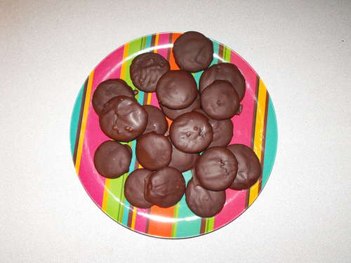Thin Mint Cookies (Almost)