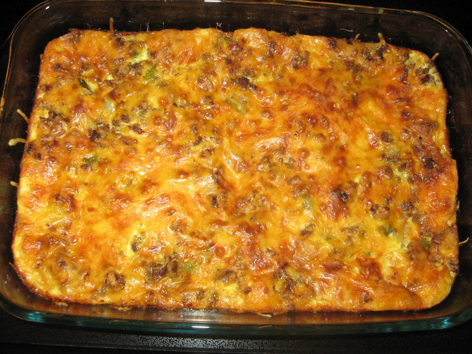 Three Layer Casserole