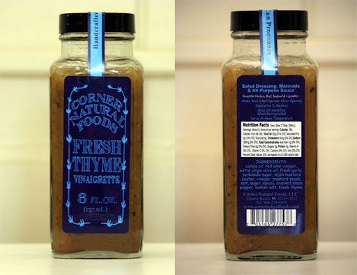 Thyme and Company Salad Dressing