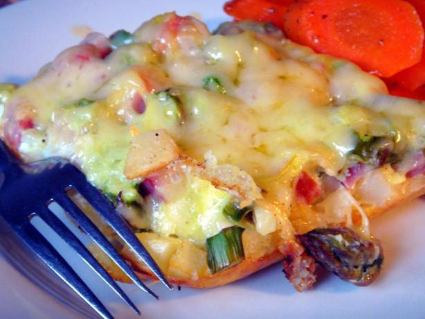 Tia's Asparagus Hash Brown Breakfast Casserole