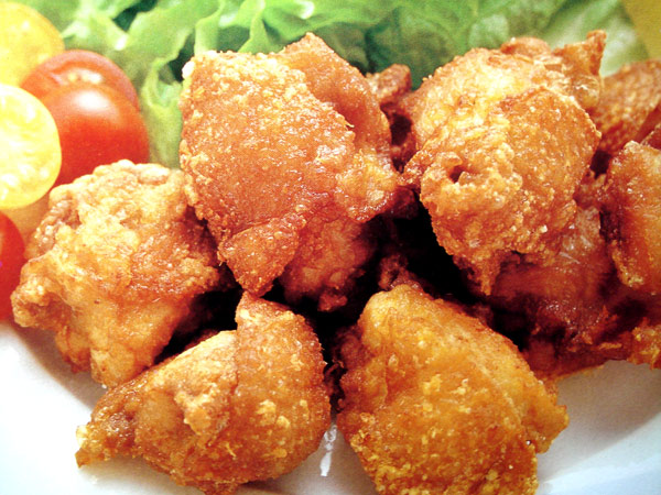 Tori No Kara-age (deep Fried Chicken Nuggets)