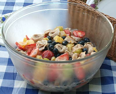 Tortellini Fruit Salad