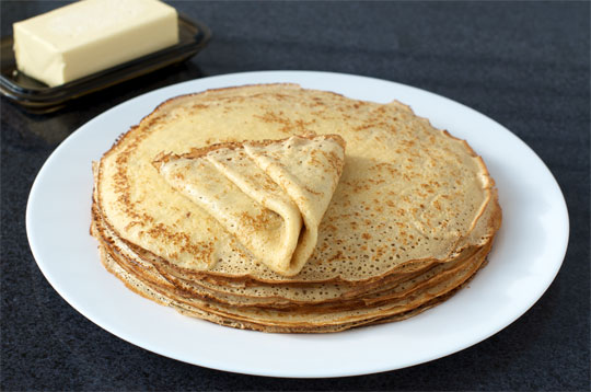 Traditional Blini