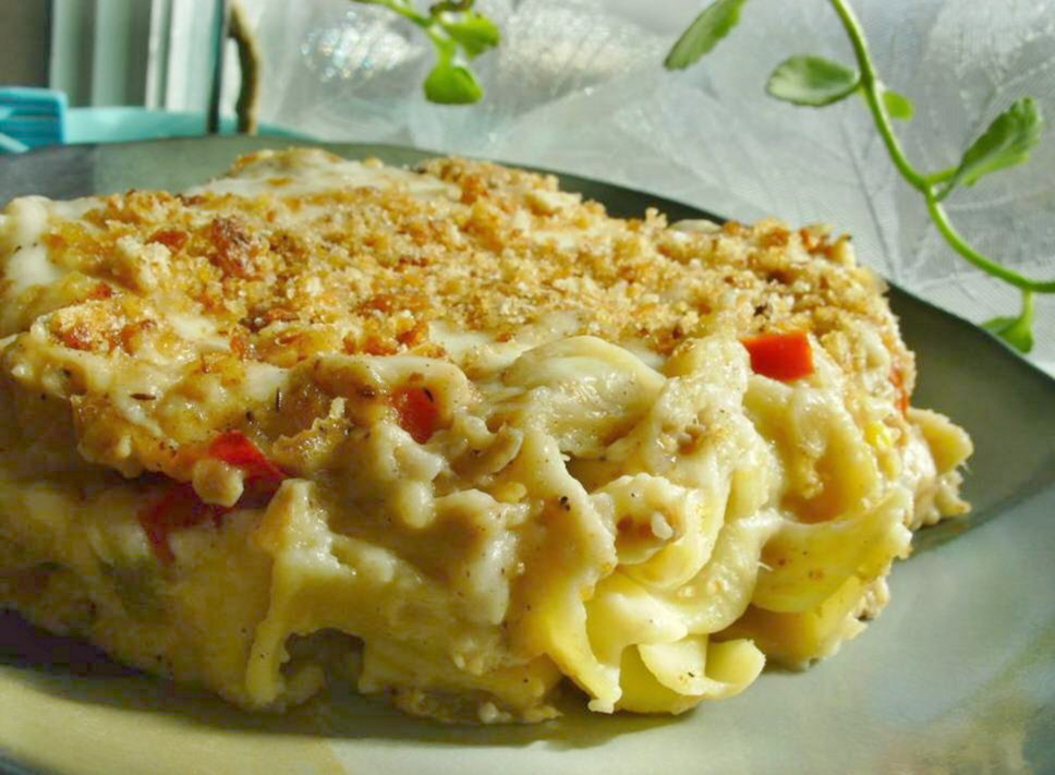 Tuna Cheese Casserole