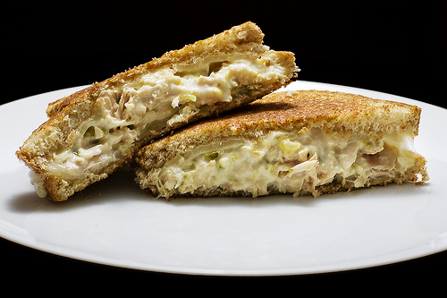 Tuna Cheese Melt