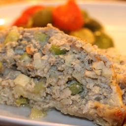 Turkey and Stuffing Meatloaf