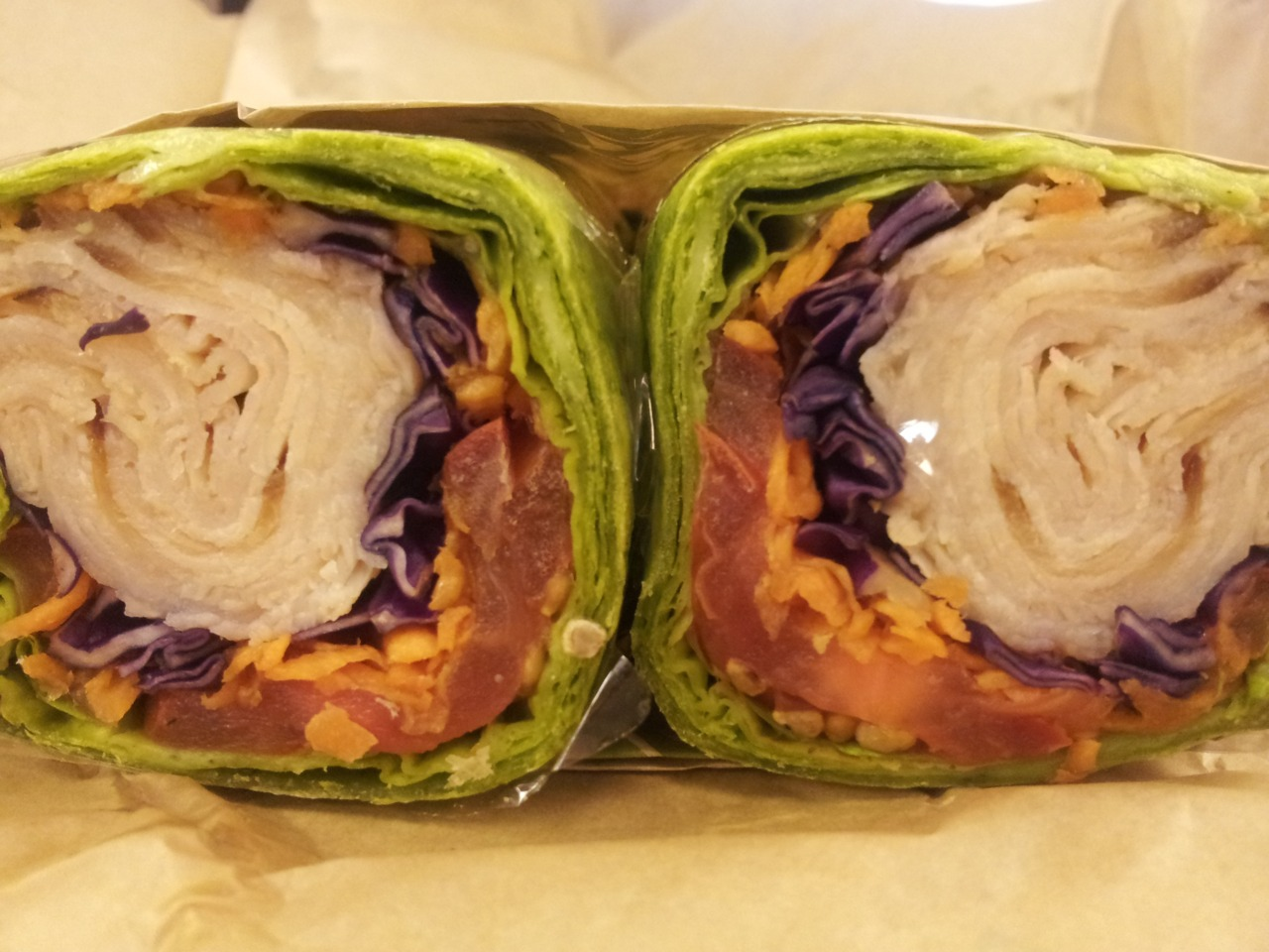 Turkey With Cabbage and Cream Cheese