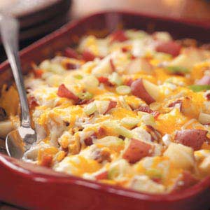 Twice Baked Potato Casserole
